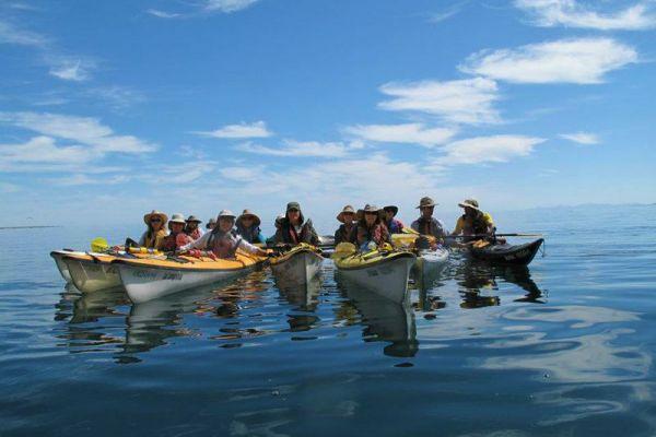 Kayaking in Baja